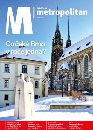 Cyril a Metoděj na Petrově v zimním kabátě