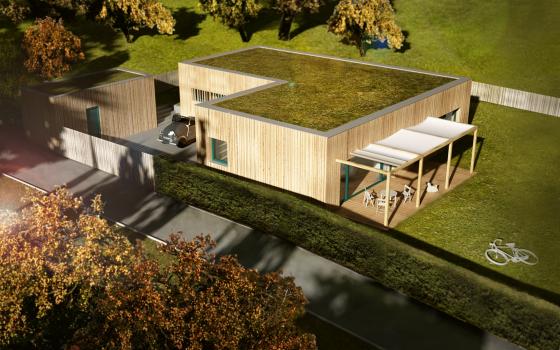 Jednoduchý dům do Březiny