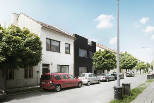 Přestavba řadového rodinného domu v Brně - Židenicích