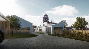 Přestavba kamenické dílny na rodinný dům