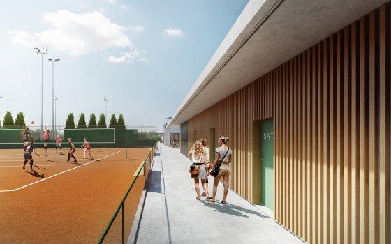 Sportovní středisko Komín