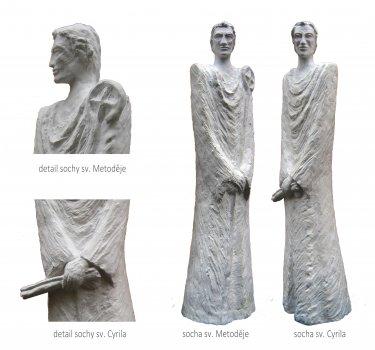 Návrh výtvarného díla připomínajícího sv. Cyrila a sv. Metoděje
