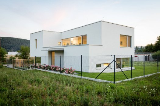 Rodinný dům v Brně - Komíně