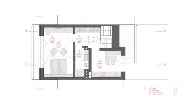 Rekonstrukce rodinného domu v Brně - Židenicích